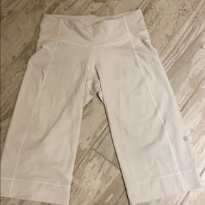 Lululemon white color pants sz 4